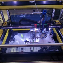 machine pour la r&d 21 têtes silicone